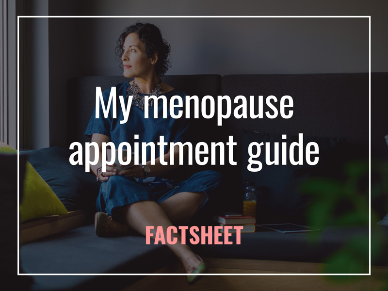 My menopause appointment guide factsheet